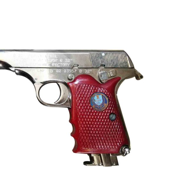 ASHANI-PISTOL-MK-II-SILVER-MADE-BY-GUN-AND-SHELL-FACTORY-(-INDIAN-ORDNANCE-FACTORY)